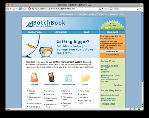 BatchBook Goes 1.0