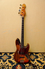 Rick's 1966 Fender Jazz Bass - front