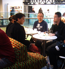 London Transport Museum Flickr Mini Meet - Cafe Chat 2
