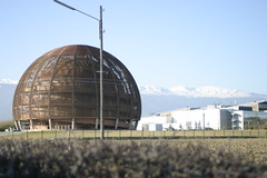 Awesome dome (Tom Purves) Tags: france switzerland experiments cern physics bigbang theuniverse lha nuclearphysics protonbeam alloftomspictures lift08 largehadronaccelerator antiprotons