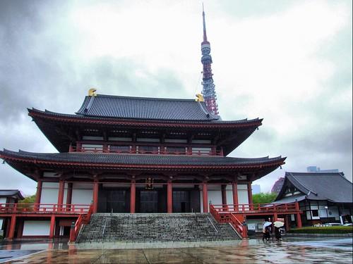Tokyo Tower & Zojoji Shrine