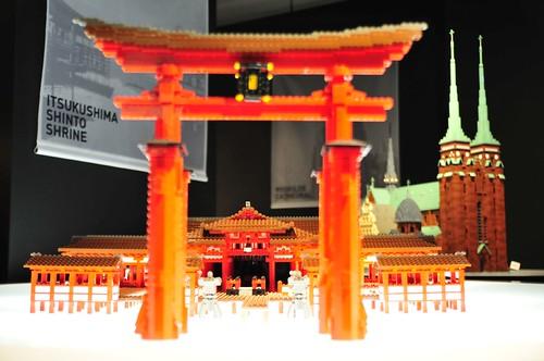 PIECE of PEACE TOKYO レゴで作った世界遺産展Part2 厳島神社_03