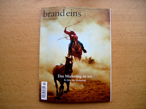 brand eins magazine, Feb. 2008