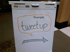 Triangle Tweetup this way