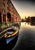Albert Dock (BarneyF) Tags: city reflection building water liverpool boat center hdr albertdock ih merseyside liverbuilding capitalofculture liverpool08