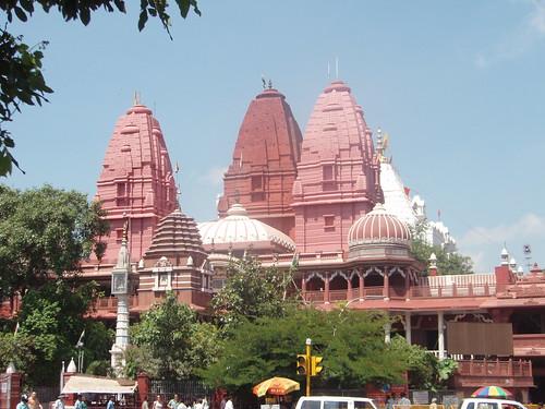 Templo hinduista en Nueva Delhi