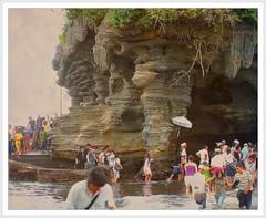 Bali (Franc Le Blanc .) Tags: bali indonesia temple asia culture hindu pura tanahlot hinduisme 5photosaday mailciler