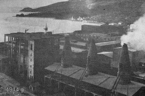 Tvornica Dalmacija 1914.g.