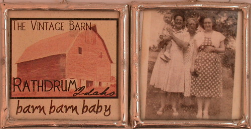 Charm for Vintage Barn Sale