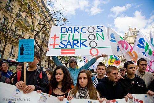 DARKOS +FILLON +SARKO  =  O dans Faits et méfaits du sarkozysme