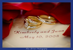 Kimberly & Juan's Wedding (Alex Gilliard) Tags: wedding red white church groom bride unity bridesmaids groomsmen civiccenter kimberlyandjuan