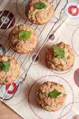 Tuna Parmesan Muffin