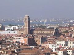 Frari dal Campanile di San Marco