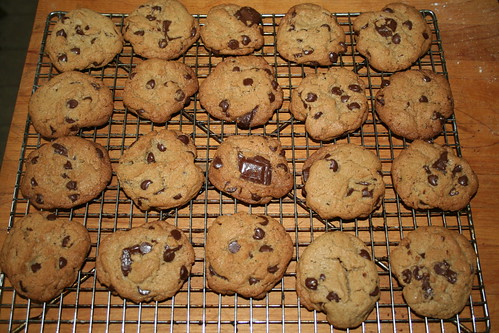 chocolate chip cookies...with a difference!