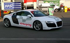 Audi R8 Nrburgring (Ni1050) Tags: auto white nature car lumix flickr n voiture racing eifel ring explore audi 2008 fr weiss rlp sportscar motorsport rheinlandpfalz r8 the 24h nordschleife nrburgring str nurburgring nrburg greenhell northloop kfz grnehlle 20832 ring save derring tz3 altesfahrerlager ni1050 historicalpaddocks savethering