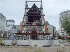 436 - Trou béant de la cathédrale de Christchurch