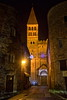 Illuminated Abbey (Chemose) Tags: abbatial abbatiale abbey abbaye saintphilibert tournus église church roman romanesque france canon eos 7d hdr décembre december winter hiver nuit night