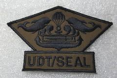 Navy UDT/SEAL (Sin_15) Tags: rok rokn navy seal udt korea korean military patch insignia badge diver combat swimmer special warfare flotilla
