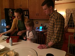 "Paul Makes Gingerbread Men with Tessa and Davy • <a style=""font-size:0.8em;"" href=""http://www.flickr.com/photos/109120354@N07/32957409122/"" target=""_blank"">View on Flickr</a>"