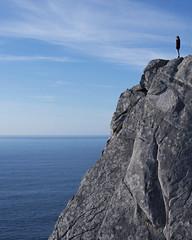 358/366: time to rest (Andrea · Alonso) Tags: me selfportrait autorretrato 366 365 sea ocean mar oceano calm calma blue cold azul frio