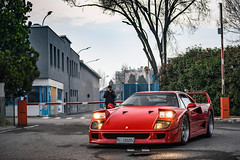 Pop up headlights <3 (David Clemente Photography) Tags: ferrari ferrarif40 f40 supercars hypercars italiancars italiansupercar v8 biturbo legend nikonphotography automotivephotography photography