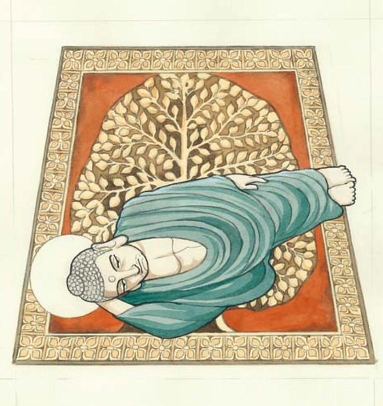 Tezuka Osamu's Buddha exhibition (4)