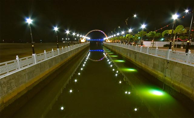 Malaysia - Terengganu - 夜景 - Behind Chinatown