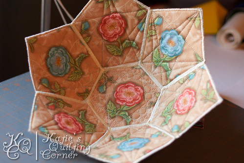 Quilted Fabric Bowl