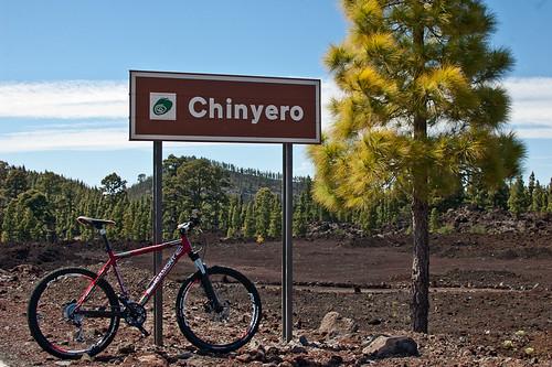 Ruta en bici por el volcán Chinyero