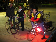 Hot Pants Pink Down Low Glow bicycle lights.