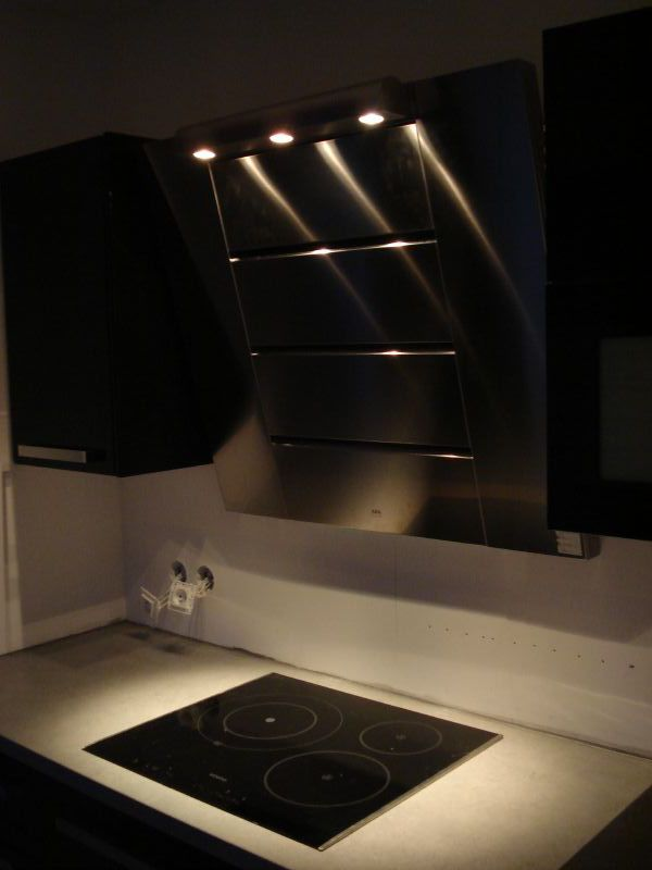 Star Trek Kitchen at night