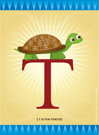 T is for Turtle!