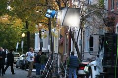 24 filming in DC-2 (kmf164) Tags: show television washingtondc dc washington tv georgetown fox dcist 24 sutherland kiefer filming kiefersutherland
