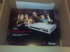 T-Home STB X301 T