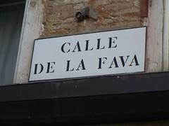 Calle de la fava