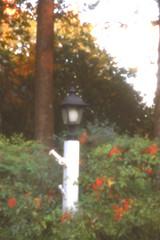 pinhole lamppost