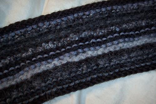lengthwise scarf