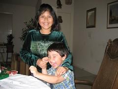 Anna and John Paul. (11/22/07)