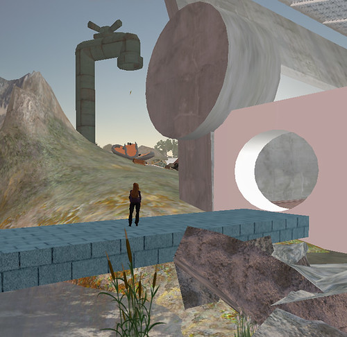 Exploring Art in Second Life