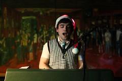 Chris Garneau @ Sunset (Joseph P. Traina) Tags: seattle music live ballard picnik chrisgarneau photobyjosephpeter