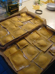 Homemade Lobster Raviolis