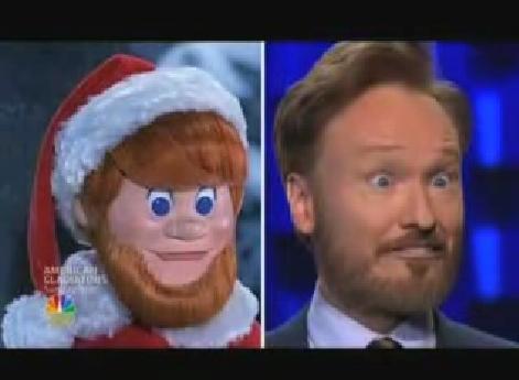 Conan O'Brien Strike Beard Kris Kringle