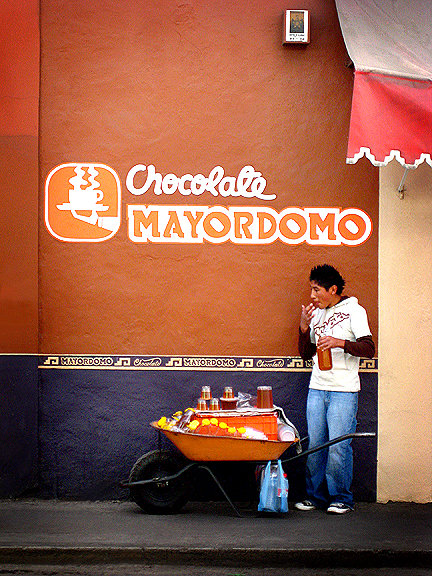 Chocolate Store in Oaxaca