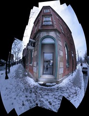 Corner Shop, Whitby, Ontario (Tony Lea) Tags: door old winter snow ontario canada window beauty shop corner hair four store downtown durham bank tony commercial whitby lea anthony brock salon block dundas dresser region hairdressers corners aesthetics 1867 abigfave tonylea anthonylea