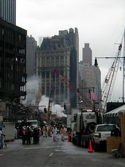 9/11 - cleanup effort (@robertpelikan) Tags: 2001 nyc newyork worldtradecenter 911 nypd ground 11 september collection twintowers wtc zero septembre nyfd memoriam