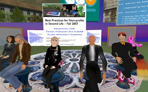 Panel on Best Practices for Nonprofits in SL