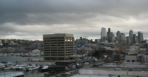 Grey February Seattle Day