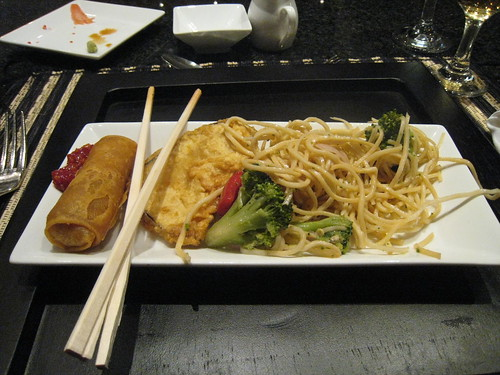 at japanese dinner