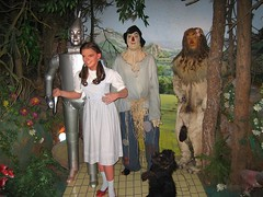 No wax museum would be complete without a tribute to Oz. (10/29/05)