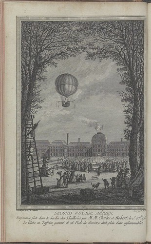 Montgolfier brothers second flight